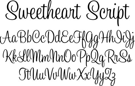 tattoo fonts alphabet cursive sweetheart script tattoos that i love pinterest high
