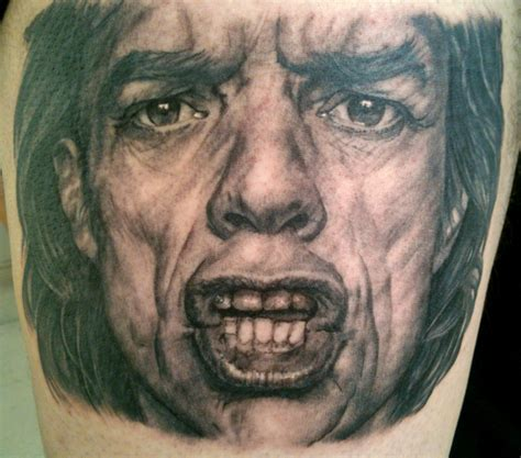 mick jagger tattoo jaggers in the pictures to pin on tattooskid