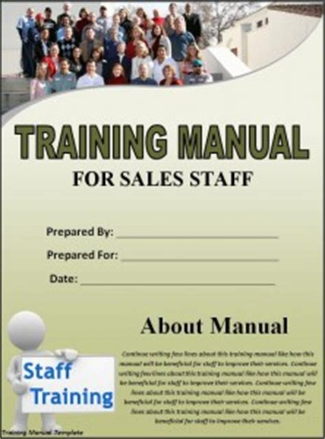 free training guide manual templates guide help steps