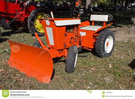 Toro Garden Tractor by 1960s Lawn And Garden Tractor Stock Image Image 24120947