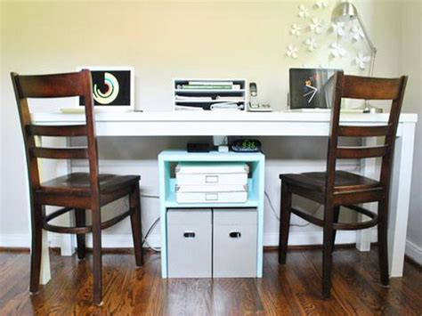2 person desk for home office stroovi