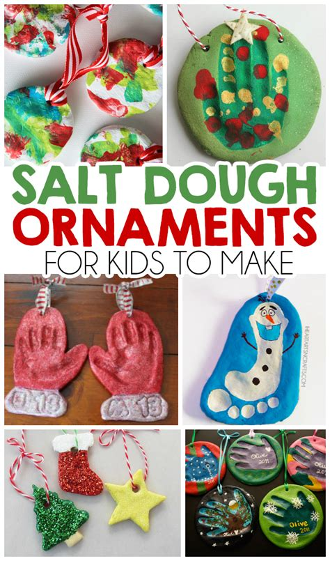 how to make kids christmas ornaments step by step 27 salt dough ornaments for i arts n crafts