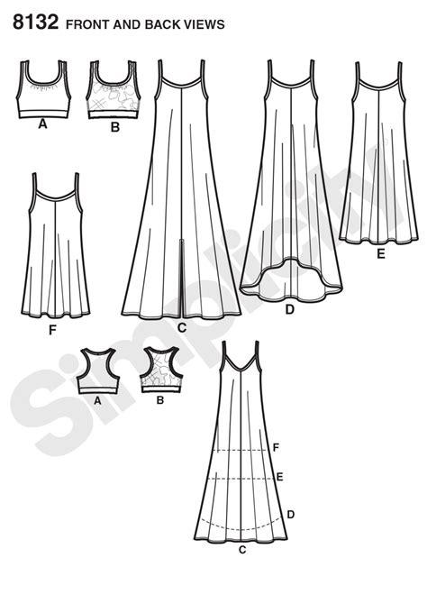 pattern review simplicity simplicity simplicity pattern 8132 misses tank dress or