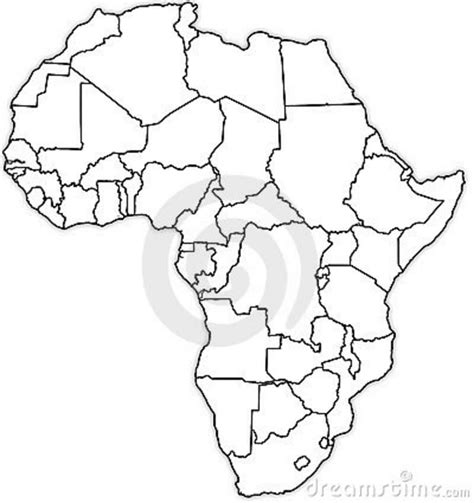 africa map blank free coloring pages of blank map of africa