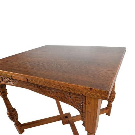 Antique Extendable Dining Table 61 Antique Oak Extendable Dining Table Tables