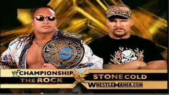 Cold Steve Last Match The Rock Vs Cold Was America S Last Decent