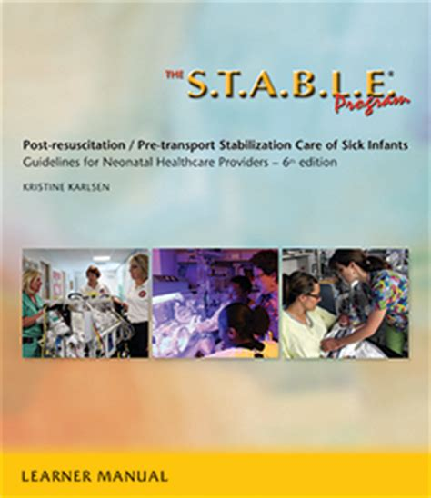 volpe s neurology of the newborn 6e books the s t a b l e program learner manual 6th edition