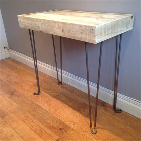 diy side table legs diy pallet wood side table with hairpin legs pallet