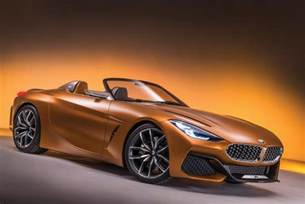 Z4 Bmw 2018 Bmw Z4 Official Teaser Photo Released News And Rumors