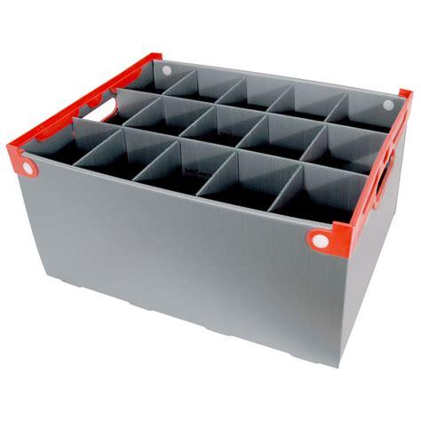 barware storage barware storage wine glass storage box 15 cells 240mm high