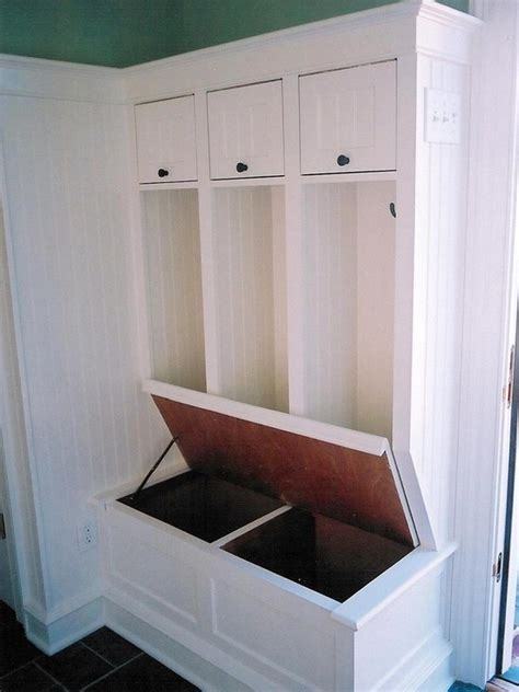mudroom storage mud room bench design organization pinterest