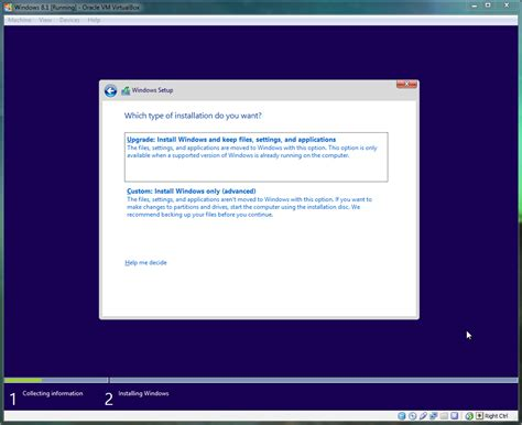 one install install windows 8 1 preview on oracle virtualbox