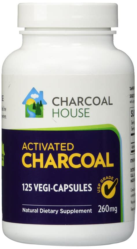 Detox 1600 Usp by Charcoal House Activated Charcoal Tablets