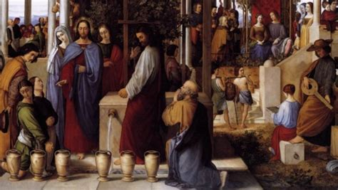 Wedding Feast At Cana Epiphany by They No Wine A Dutiful S District