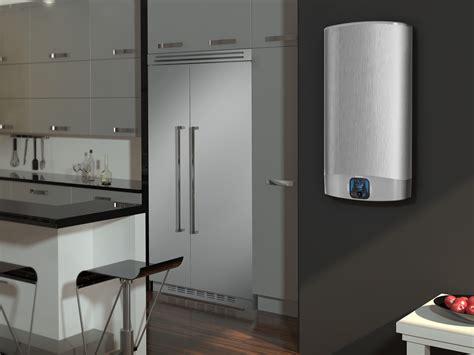 chauffe eau cuisine 駘ectrique gain de place le chauffe eau 233 lectrique plat ariston
