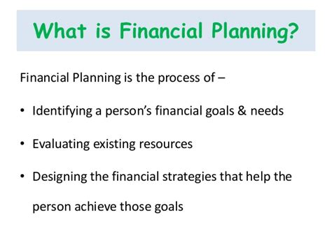 What Is The For Mba In Financial Planning by Welth Planners Financial Planning Presentation