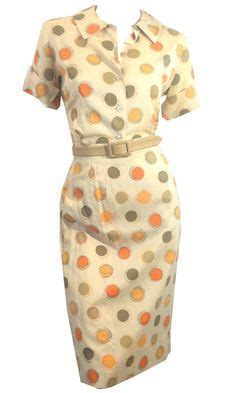 Polky Dress Ori Gamis Polka 1000 images about in the pokey on polka dots 1950s and polka dot dresses
