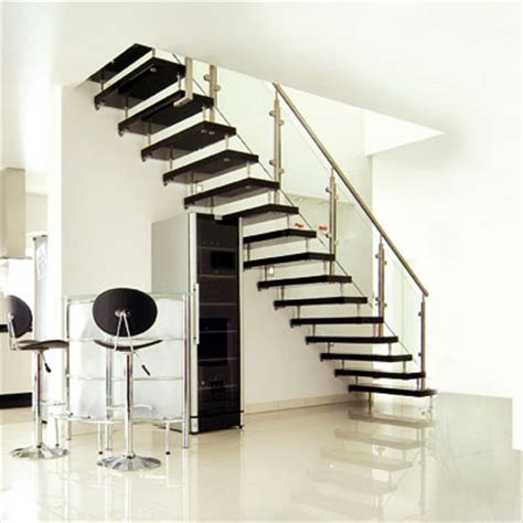 Inside Stairs Design Black Modern Interior Design Staircase