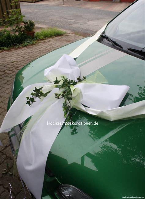 autoschleifen hochzeit autoschleife hochzeit mit calla autoschleifen