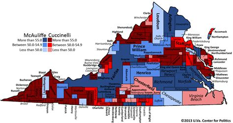political map of virginia larry j sabato s 187 the surprisingly dramatic