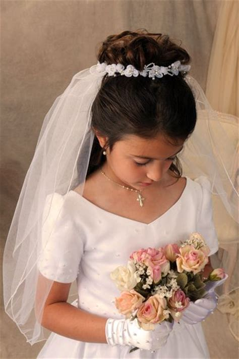 pictures of childrens hair with communion veil pictures of childrens hair with communion veil items