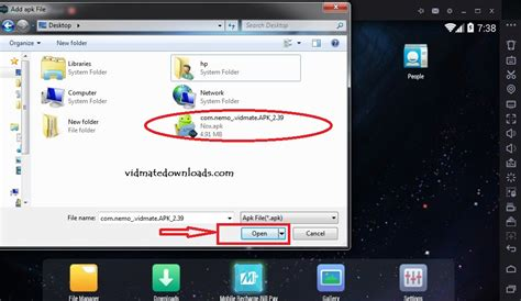 app to open apk files free vidmate for windows 7