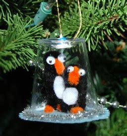 playful penguin snow globe ornaments allfreekidscraftscom