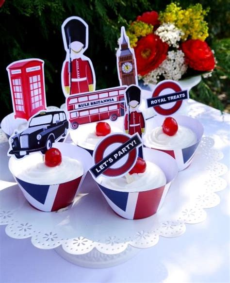 themed party k british uk london birthday party printables supplies