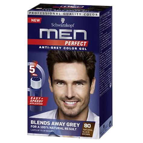 styling gel that covers grey hair 3x schwarzkopf men perfect mens hair dye toner black brown