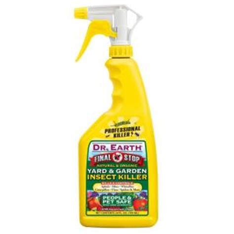 dr earth 24 oz ready to use yard and garden insect