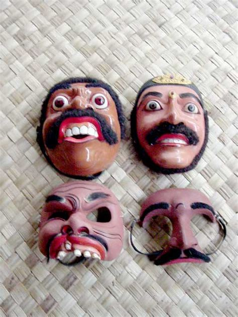 balinese mask discover bali indonesia photo gallery