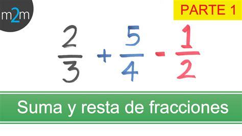 suma y resta de fraccionarios para nios de tercer grado suma y resta de fracciones con diferente denominador