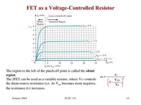 integrated voltage controlled resistor jfet electronica 2