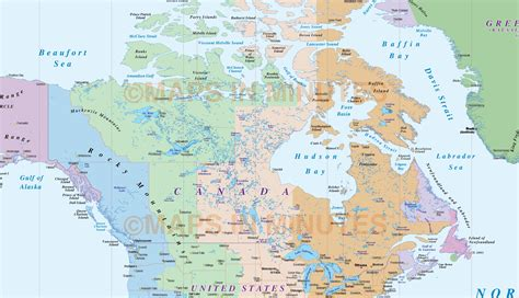 map of south canada digital vector and south americas time zones map