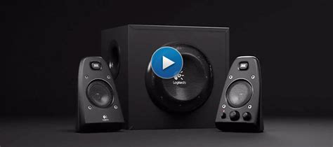 Logitech Z623 Speaker System logitech z623 2 1 speaker system with subwoofer thx