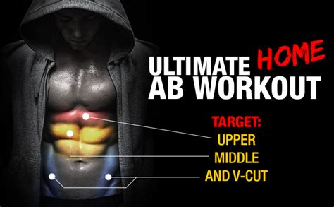 complete home ab workout middle lower v cut