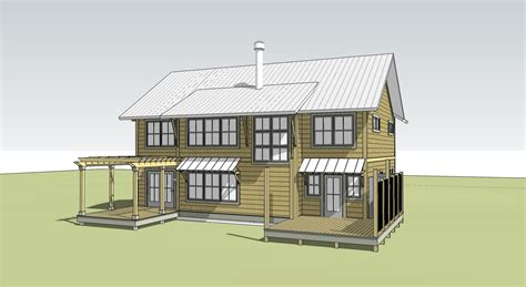 sketchup house designs