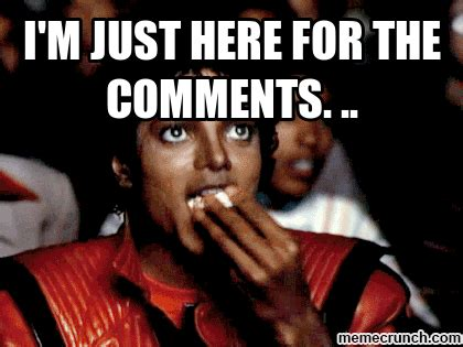 Meme Photo Comments - fans share favorite michael jackson popcorn memes memes