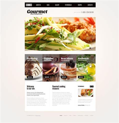 affiliate site template responsive yemek pişirme joomla şablonu 43778