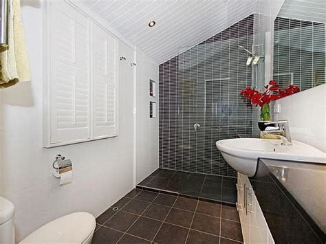 modern australian bathrooms modern bathroom design with louvre windows using frameless