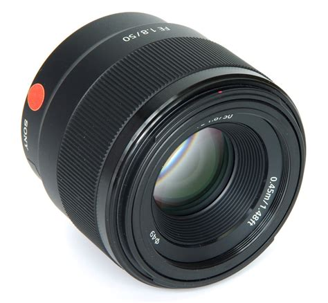 50mm F1 8 sony fe 50mm f 1 8 e lens review