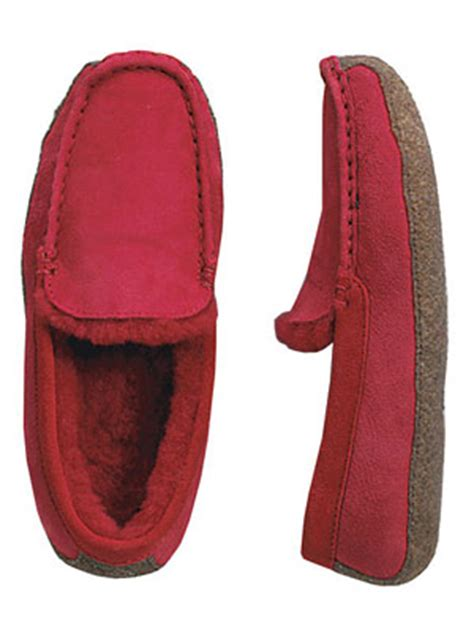 lands end womens slippers lands end shearling venetian loafer s slippers review