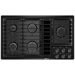 jennair gas cooktop parts jgd3536gb jenn air 36 quot downdraft gas cooktop black on