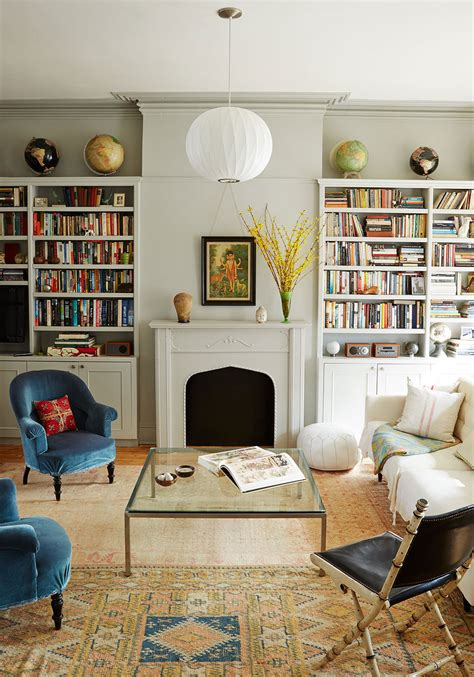 brooklyn living room get the look an eclectic living room decorating lonny