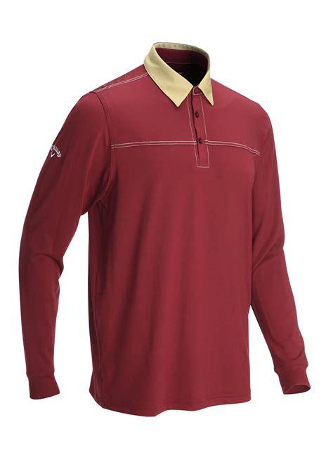 golf clothing shirts callaway golf l s polo shirt