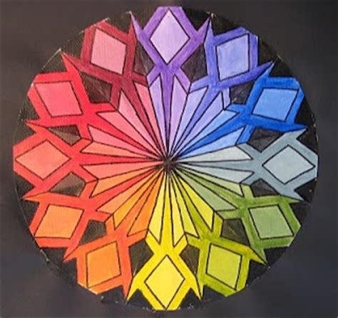 17 best images about color wheel on high school creative and color wheel projects