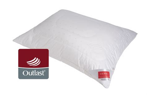 outlast temperature regulating bed pillow king size pillow outlast 174 maize pillow hefel textil schwarzach austria