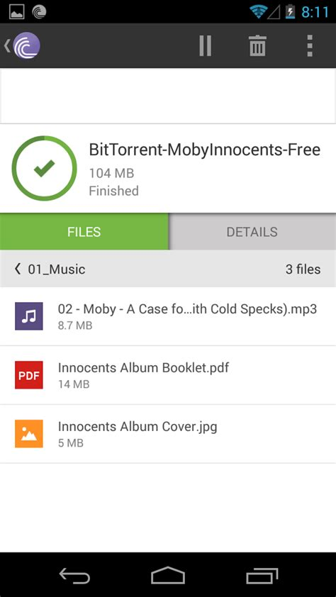 android torrenting app bittorrent android