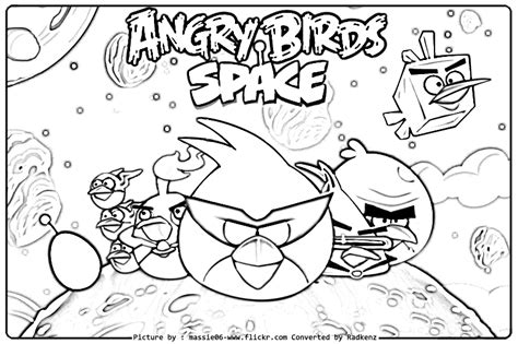 coloring pages angry birds space radkenz artworks gallery angry birds