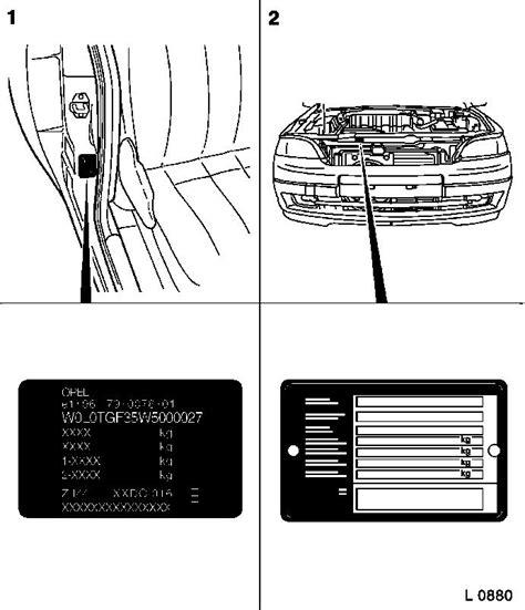 vauxhall workshop manuals gt astra f gt general vehicle information gt other information gt vehicle